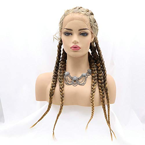 Braid wig with baby hair _image4