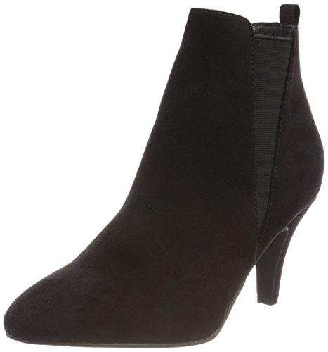 Donna Nero Heel Black Low Chelsea BIANCO 10 Stivali aH7nFwq1