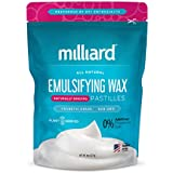 Milliard NON-GMO Emulsifying Wax Pastilles NF – 8 OZ. Resealable Freshness Storage Bag