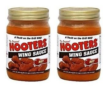 - Hooters Wing Sauce Hot, 12 oz (2 pack)