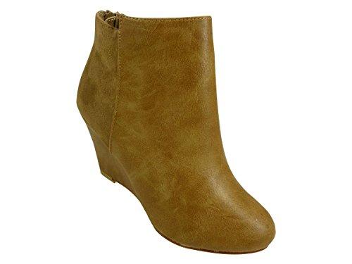 Chaussmaro - Botas Mujer Marrón - marrón (camel)