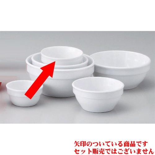Souffle Plate utw680-47-524 [2.8 x 1.3 inch] Japanece ceramic Strengthening white 7cm stack ball tableware
