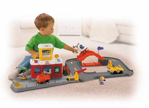 Fisher Price Little People Airport Playset Red Buy Online In Ksa