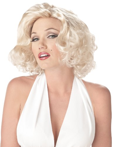 California Costumes Women's Marilyn Wig, One Size (Wig Blonde Sexy Marilyn)