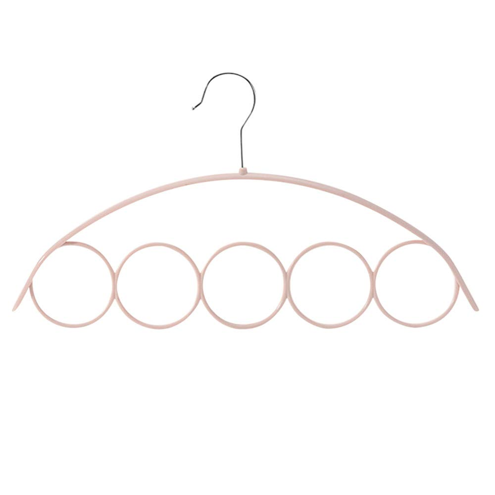 Rifuli kleideraufbewahrung Hangers Schal Schal Kleiderb/ügel Krawatte 5 Ring Rack Organizer Halter Haken Display Kleiderb/ügel