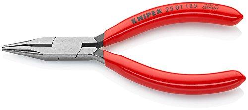 Pince radio Pince /à becs demi-ronds Knipex 25 01 125 avec coupe-fil
