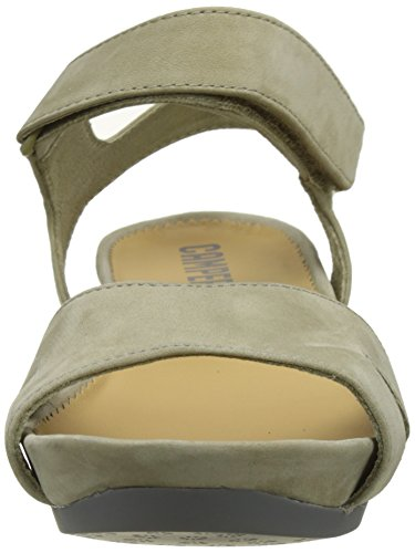 Camper Supersoft Negro/Micro Negro, Sandali Donna Beige (Medium Beige 015)