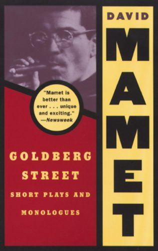 Goldberg Street: Short Plays and Monologues (Mamet David)