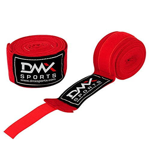 Professional Mexican Style Boxing Hand Wraps 180 Inches with Closure – Hand Wraps for Boxing Gloves, Handwraps with Hand…