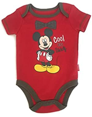 Mickey Mouse Cool Like Daddy Infant Bodysuit (0-3 Months)