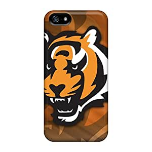 Durable Defender Cases For Iphone 5/5s Covers(cincinnati Bengals) by runtopwell