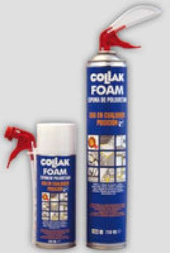 Collak foam - Espuma poliuretano foam canula 750ml