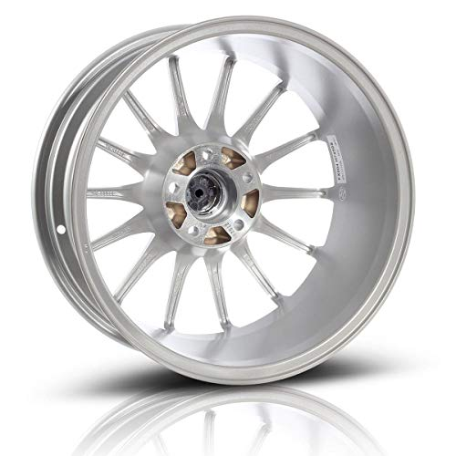 MaxAuto 1 pcs 17x7.5, 5x112, 73.1, 35, Silver Finish Rims Alloy Wheels Compatible with Volkswagen Passat 1998-2005,Tiguan CC 2009-2017/Audi A4 1996-2017/Audi A6 1995-2017 (exclude 2005)