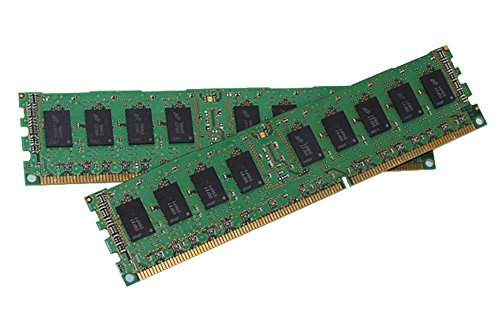 8GB (4 x 2GB) DDR3 PC3-10600 1333MHz ECC UDIMM Server Memory Compatible with Dell R210, Dell T110, HP DL120 G6, HP DL120 G7, HP DL320e G8, HP ML110 G6, HP ML110 G7, HP ML310e G8 Servers