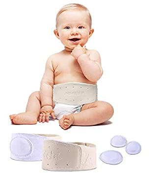 Adjustable Baby Belly Band Belt Navel Band Belly Belt for Newborn Kids S