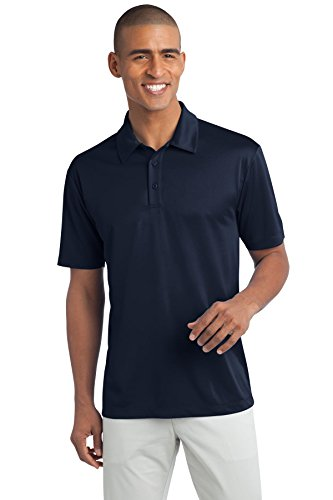 Shirt Knit Port Authority (Port Authority Men's Tall Silk Touch Performance Polo XLT Navy)