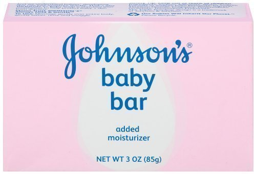 Johnson's Baby Bath Bar, 3 Ounce (Pack of 6) by Johnson's Baby by Johnson's