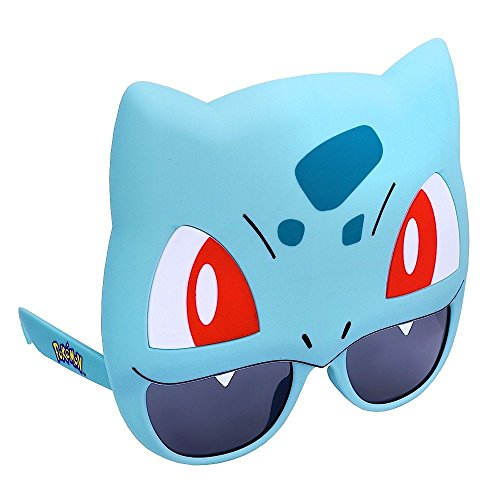Sun-Staches Costume Sunglasses Pokemon Bulbasaur Party Favors UV400 -