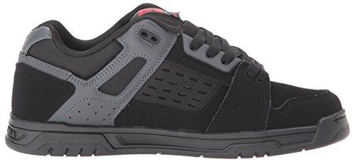 Dc Heren Hert Sneaker Donkere Schaduw / Zwart