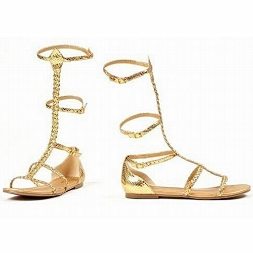 Cairo Costume Shoes - Size 10 (Greek Goddess Sandals)