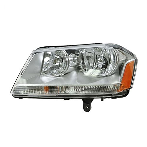 (Headlight Headlamp Driver Side Left LH for 08-10 Dodge Avenger SXT)
