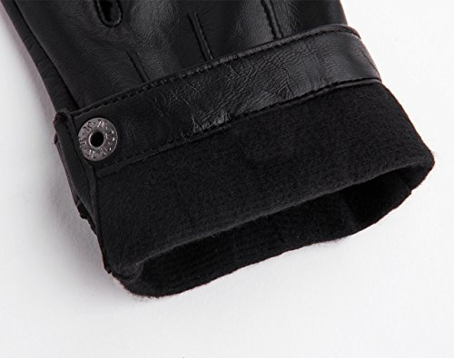YISEVEN Ladies Lambskin Leather Half Finger Fingerless Motorcycle Driving Gloves