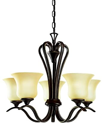 Kichler 2085OZ Wedgeport Chandelier 5-Light, Olde Bronze