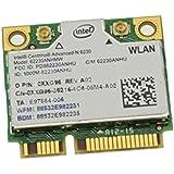 XXG96 - Dell Intel 6230 Wireless WiFi 802.11 a/b/g/n Plus Bluetooth Half-Height Mini-PCI Express Card - XXG96