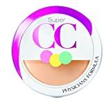 physicians formula cc cream - Physicians Formula Super CC Color-Correction and Care CC Compact Cream SPF 30, Light/Medium, 0.28 Ounce
