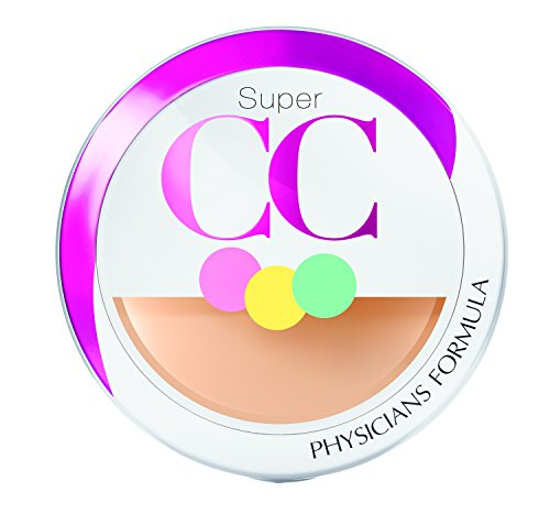 Cream Compact (Physicians Formula Super CC Color-Correction and Care CC Compact Cream SPF 30, Light/Medium, 0.28 Ounce)