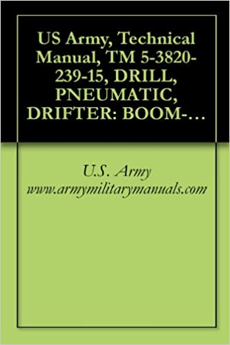 US Army, Technical Manual, TM 5-3820-239-15, DRILL,