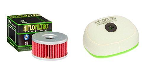 Oil and Dual-Stage Foam Air filter Kit for SUZUKI DR-Z250 K1,K2,K3,K4,K5,K6,K7 01-07 HIFLO FILTRO