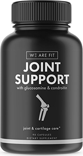 Joint Support Extra Strength Supplement, Ease Joint Pain – Promote Cartilage Longevity, Joint Mobility and Flexibility with Glucosamine Chondroitin Turmeric MSM Boswellia, 60 Veggie Caps