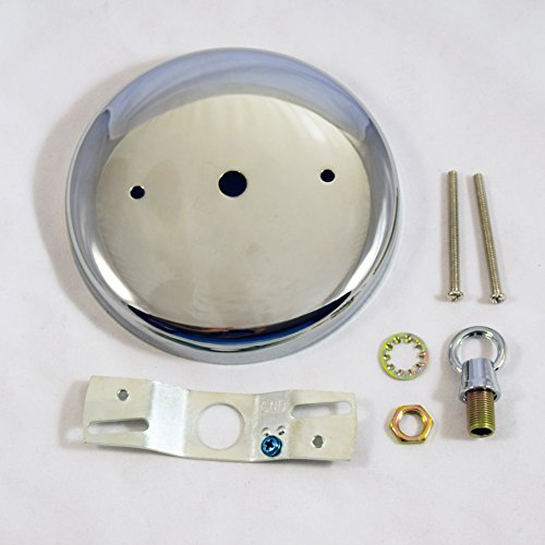 Plain Steel Rounded Canopy Kit 4-7/8