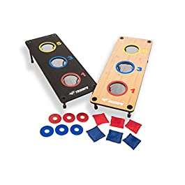 TRIUMPH Washer Toss Combo – Includes 2 Game Platforms, 6 Toss Bags, 6 Washers