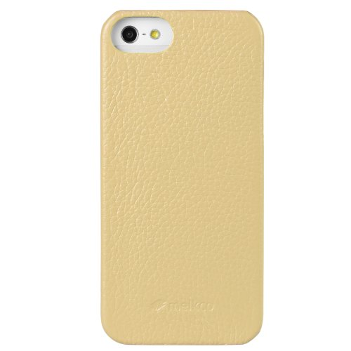 Melkco Leder Snap Cover für Apple iPhone 5 khaki