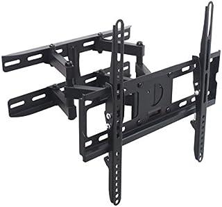 TradeMount Supporto da Parete a Due Bracci per Display Nero Estraibile da 8,0cm a 46,5cm, orientabile, inclinabile di 12°, per Hisense 43' H43A5600