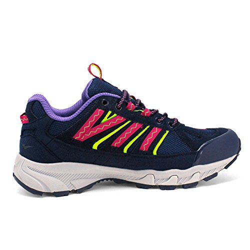 Women Hiking Running Walking Hiking Off Breathable Outdoor Blue Lightweight Shoes snfgoij Ladies Resisting Road Shoes Wear Shoes 8wfqx