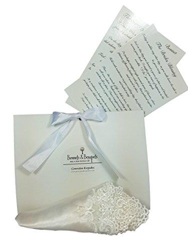 Bride to Baby Sequined Ivory Handkerchief Keepsake Kit ()