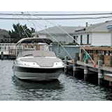 The Amazing Quality Monarch Nor'Easter 2 Piece Mooring Whips f/Boats up to 36'