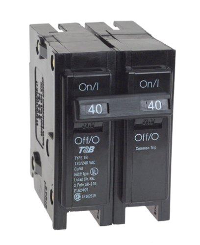 View-Pak Div. Of Tes ICBQ240 Siemens 2 Pole Common Trip Circuit Breakers