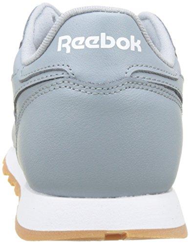 Gum Running 36 meteor white Eu Mixte Classic Grey Chaussures gum Leather Enfant Gris De Reebok xgRwBqXx