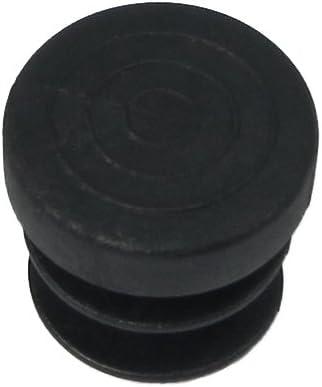 EDM Contera Redonda para Interior /ø16mm Negra