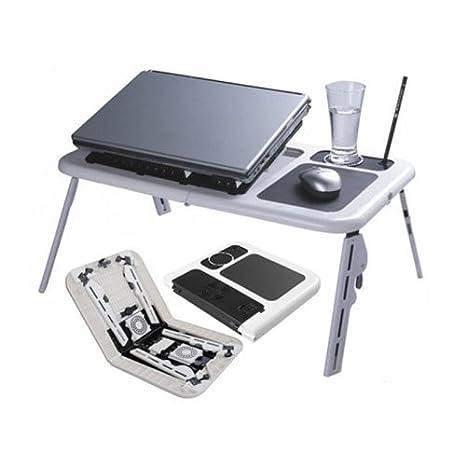 Multi Función Ordenador Portátil Workstation Cool de Pad Enfriador 2 x Ventilador USB 8 - 15 pulgadas soporte de mesa Cooler S Tablet: Amazon.es: ...