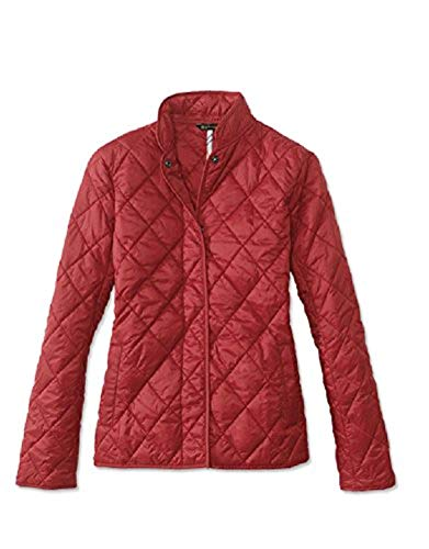 Barbour Womens Rae Loch Quilted Small Jacket, 4, Red from Barbour