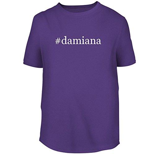 Damiana Tee (#Damiana - Men's Graphic Tee, Purple, Small)