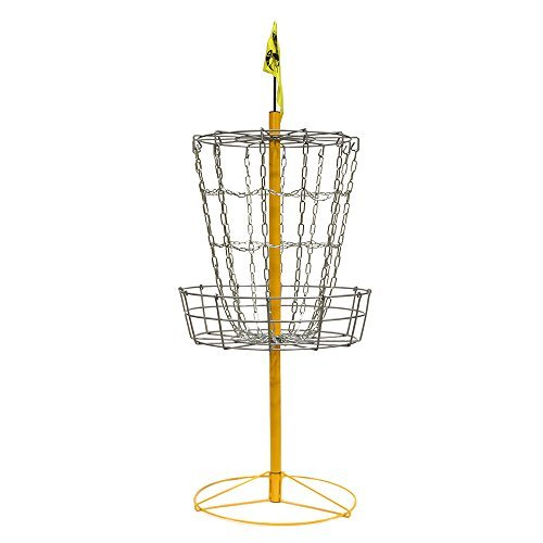 The Hive Disc Golf Practice Basket Cross Chains by Hive Disc Golf