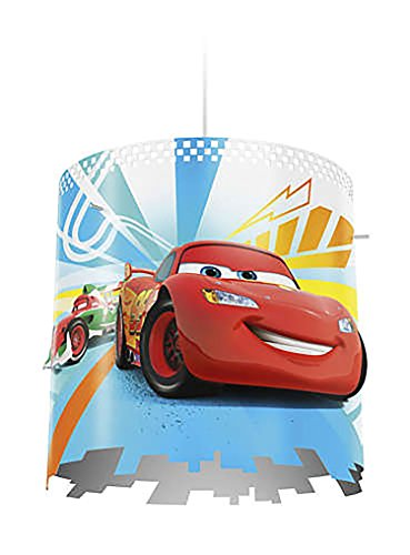 Disney Lamp Shades (Philips Disney Pixar Cars McQueen Kids Ceiling Suspension Light Lampshade Only)