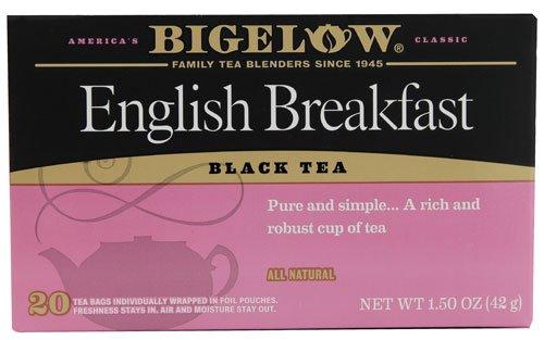 Bigelow Tea Black Tea English Breakfast -- 20 Tea Bags