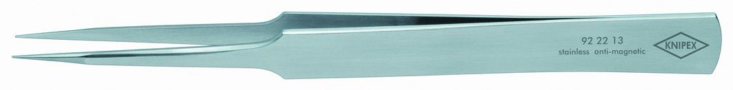 Knipex 92 22 13 Precision Tweezers in straight pattern 5,31''